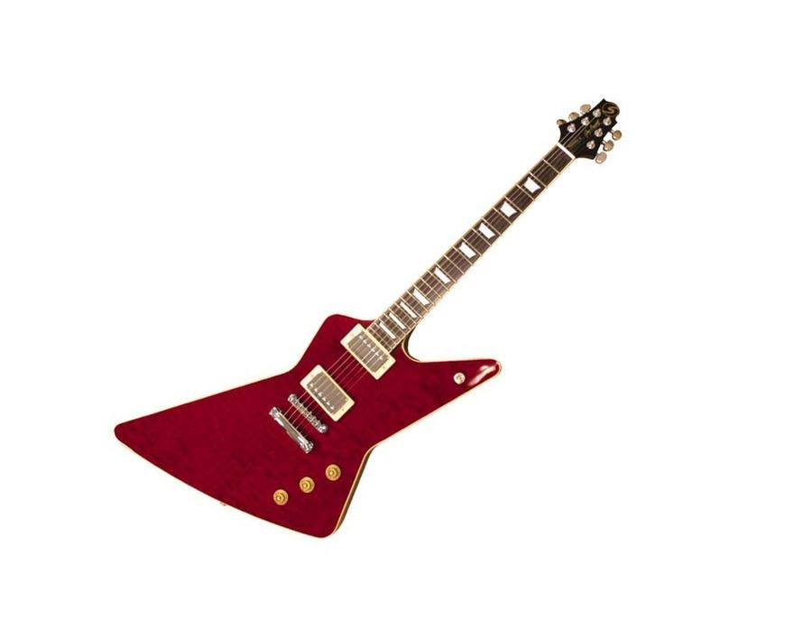 Samick Greg Bennett RW2 Quilt Top Electric Guitar