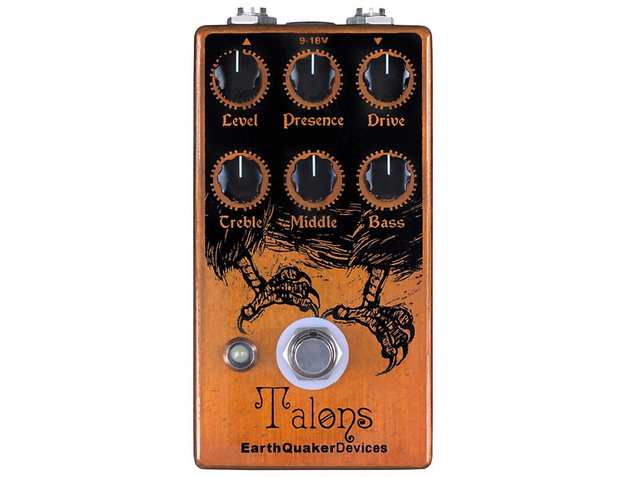 EarthQuaker Devices Talons Overdrive Guitar Effects Pedal