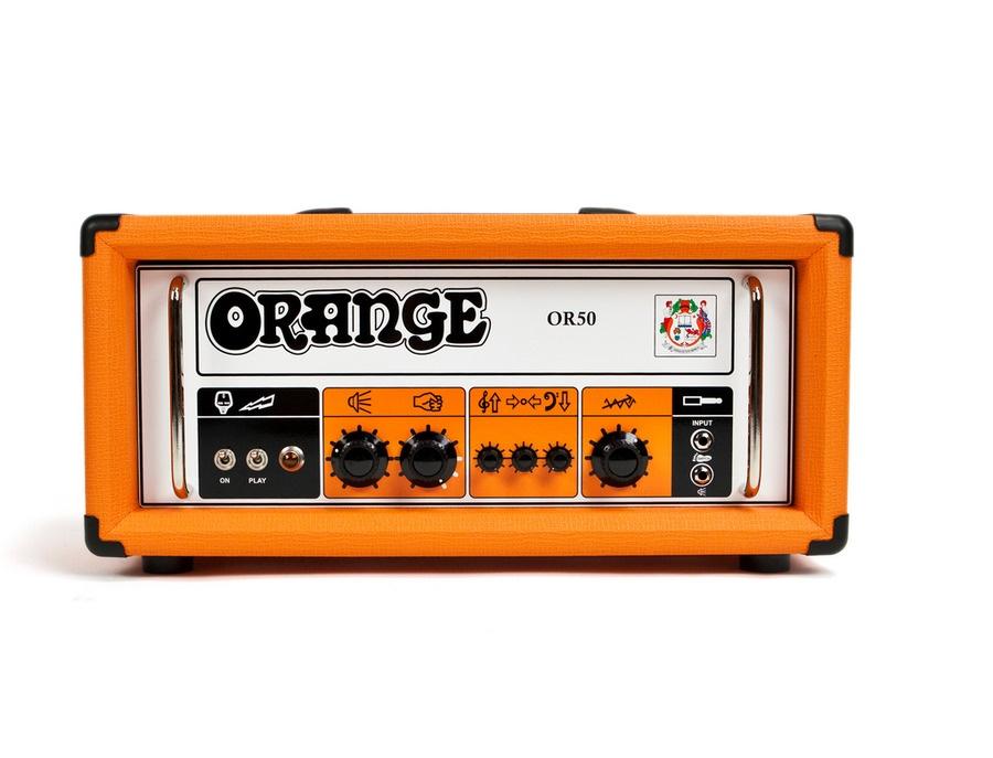 Orange amplifiers or50 tube guitar amp head xl