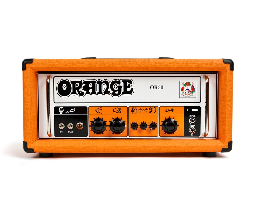 Orange amplifiers or50 tube guitar amp head xl