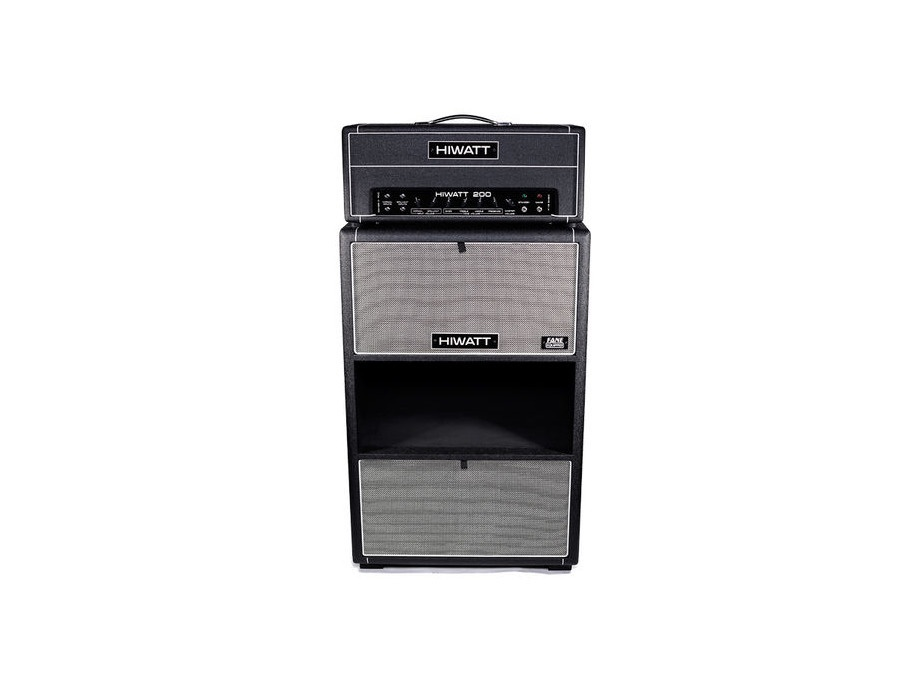 Hiwatt Custom 200W and 4x12 cabinet
