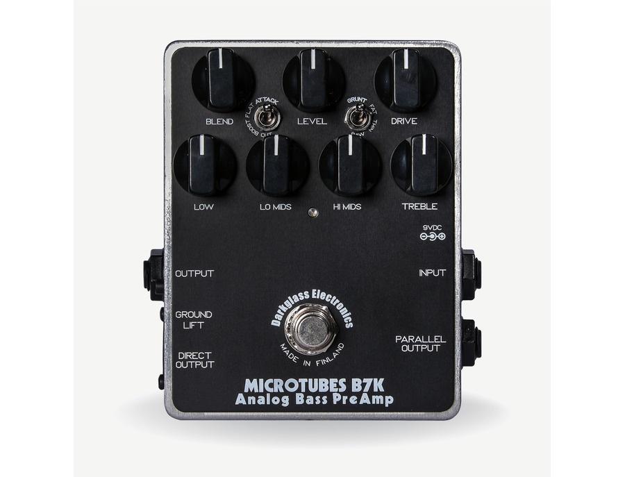 Darkglass microtubes b7k analog bass preamp pedal xl