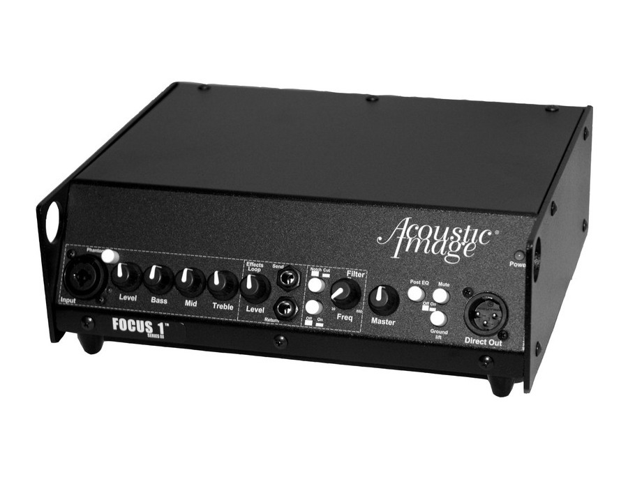 Acoustic Image Focus 1 Amp Head