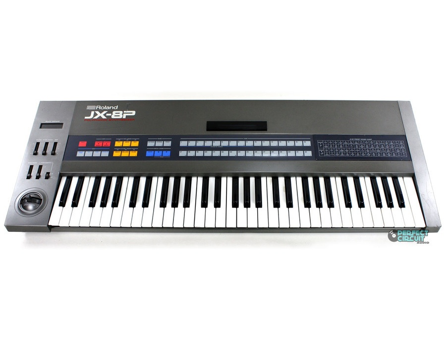 Roland JX-8P Synth