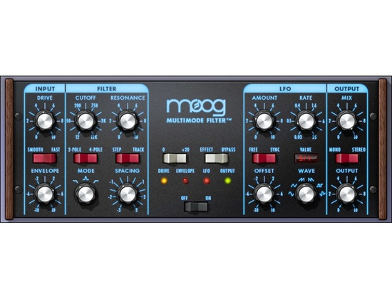 Universal Audio Moog Multimode Filter Plugin