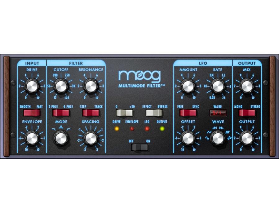 Universal audio moog multimode filter plugin xl