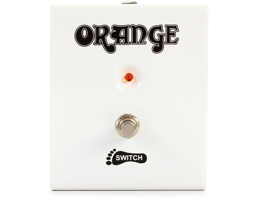 Orange amplifiers fs 1 1 button guitar footswitch xl