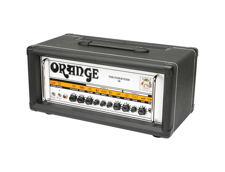 Orange Amplifiers Thunderverb 50 Series TH50HTC 50W Tube Guitar Amp Head