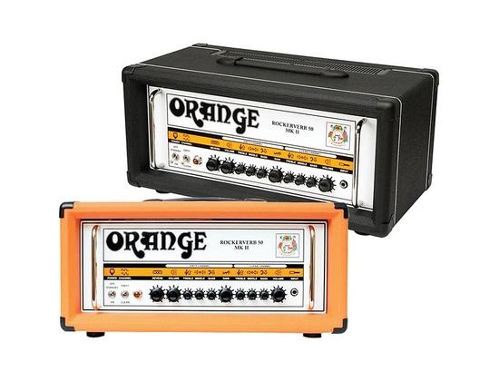 Orange Amplifiers Rockerverb 50 MK II 50W Tube Guitar Amp Head