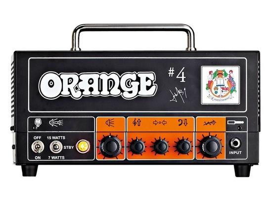 Orange Amplifiers Tiny Terror TT15JR Jim Root #4 Signature 15W Tube Guitar Amp Head