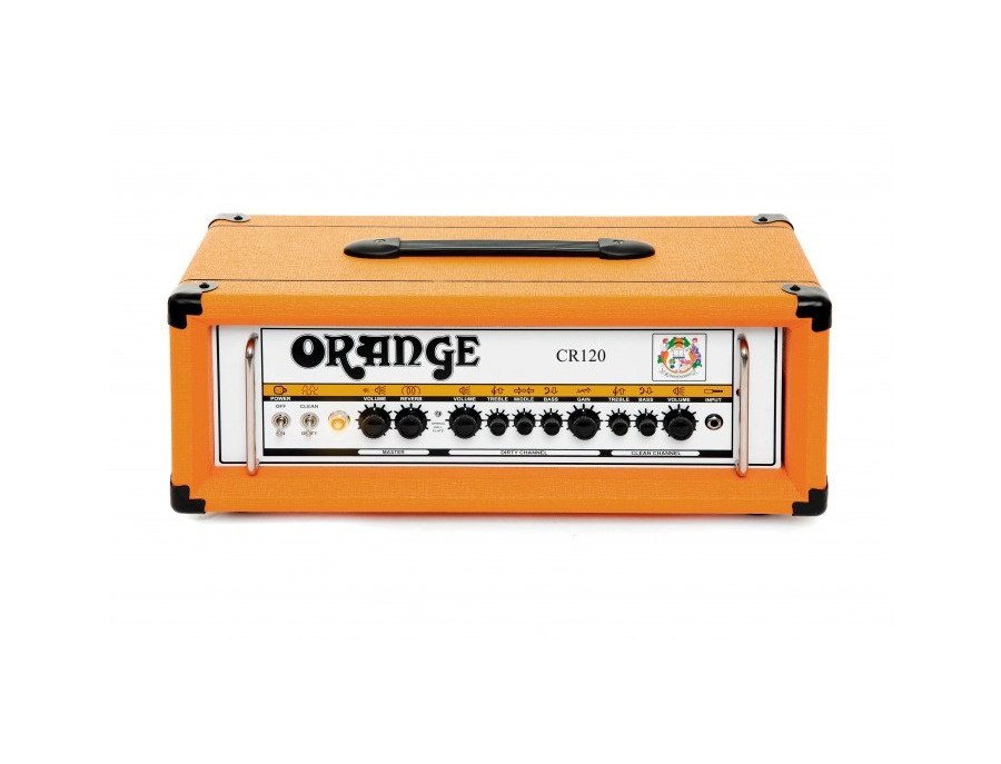 Orange amplifiers crush cr120h 120w guitar amp head xl