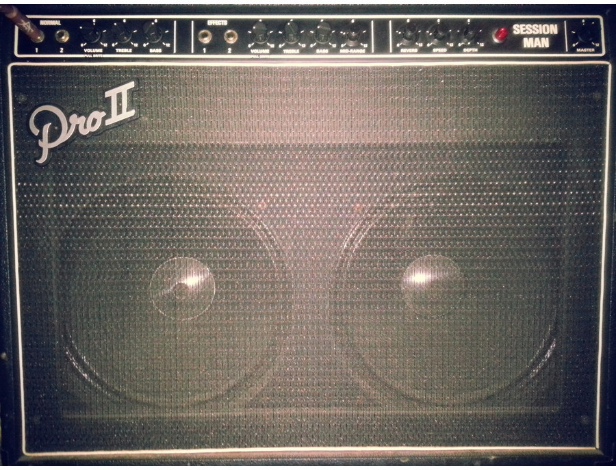 1970s Garnet Session Man 50W Combo