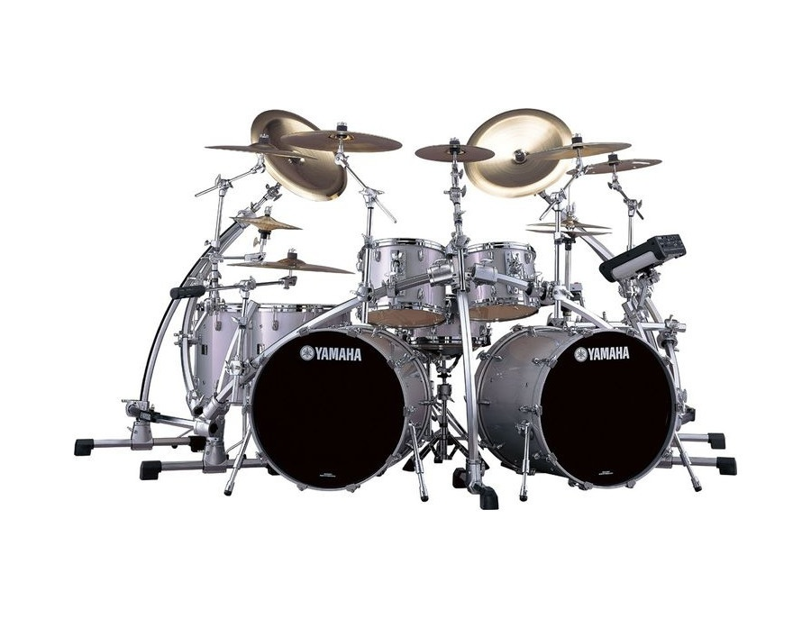 Yamaha silver sparkle drums xl