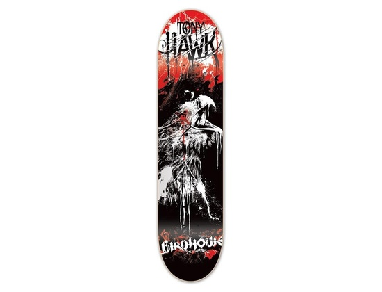 Birdhouse Hawk Dripping Skateboard Deck 7.875
