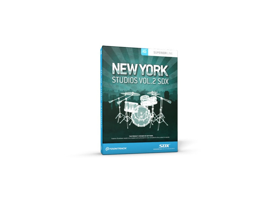 Toontrack SDX New York Studios Vol.2