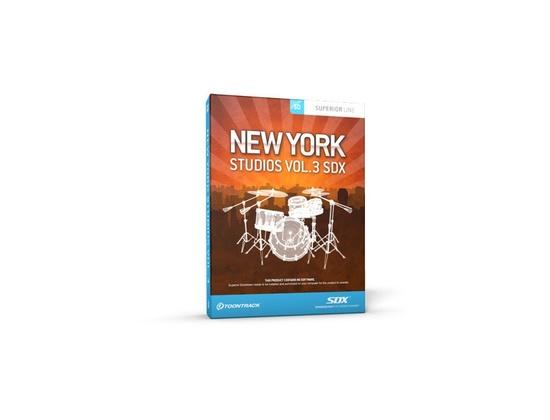 Toontrack SDX New York Studios Vol.3