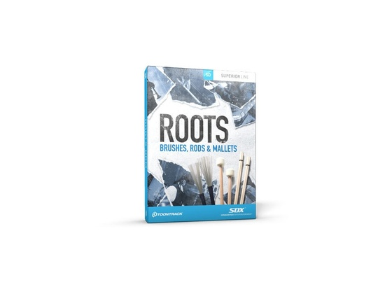 Toontrack SDX Roots - Brushes, Rods and Mallets