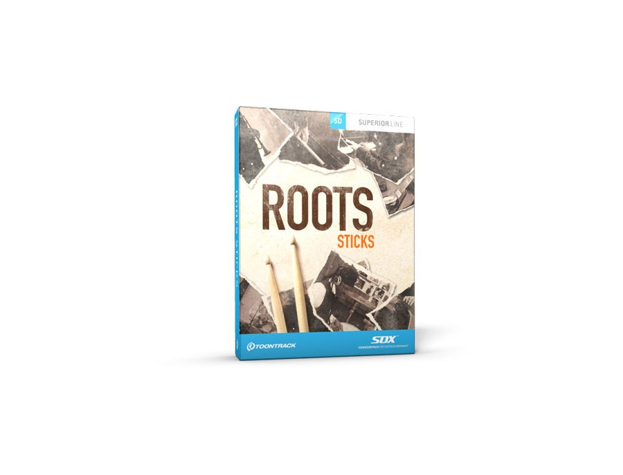 Toontrack SDX Roots – Sticks
