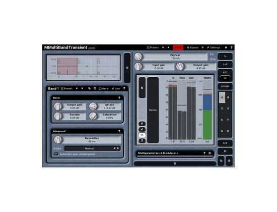 MeldaProduction MMultiband Transient