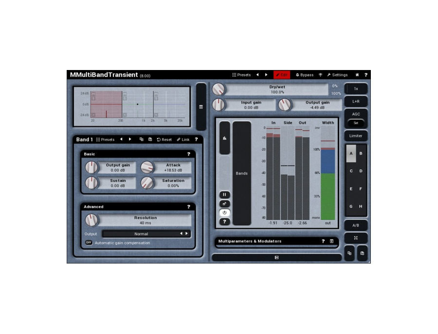 Meldaproduction mmultiband transient xl