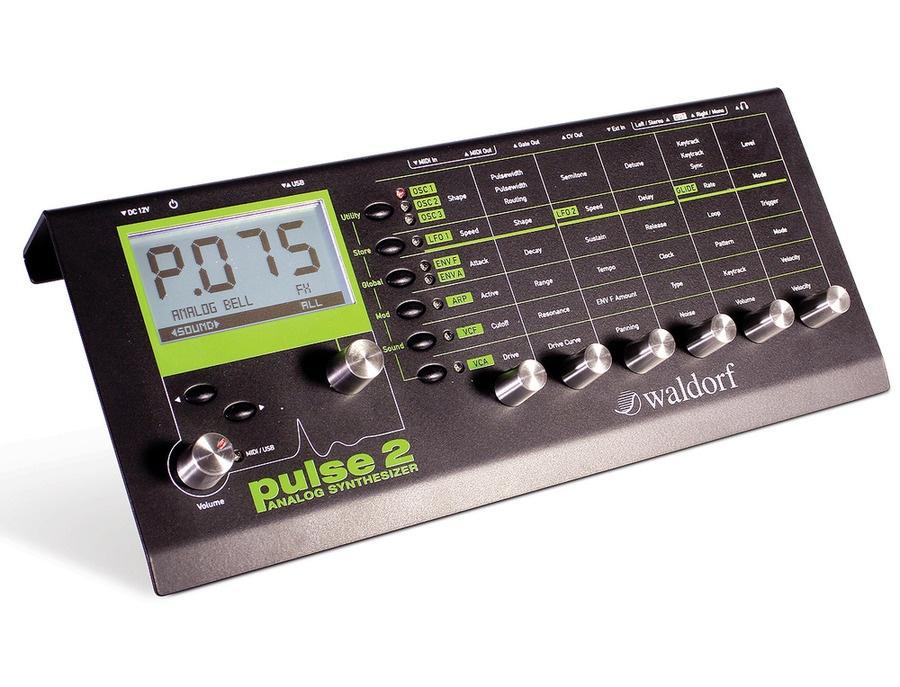Waldorf pulse 2 synthesizer xl