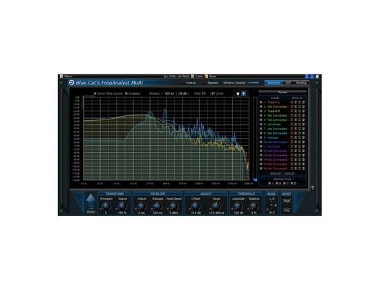 Blue Cat Audio Blue Cat's FreqAnalyst Multi