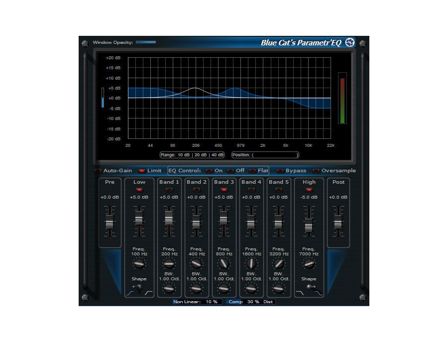 Blue Cat Audio Blue Cat's Parametr'EQ