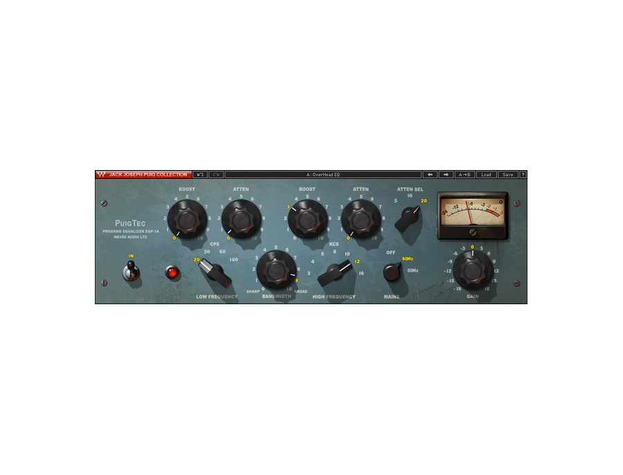 Waves PuigTec EQP-1A + MEQ-5 EQ