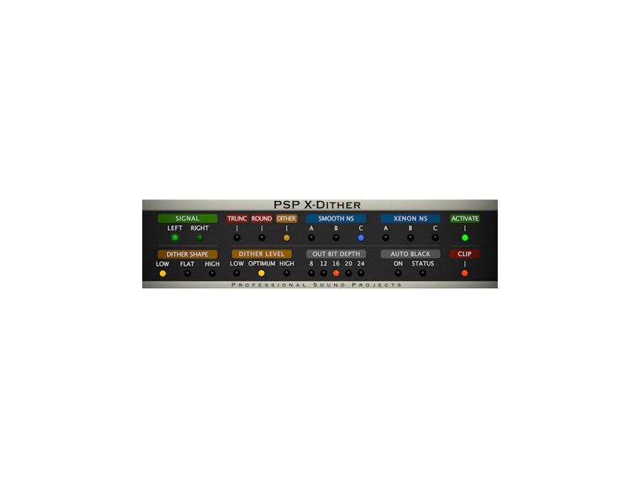 PSP Audioware PSP X-Dither