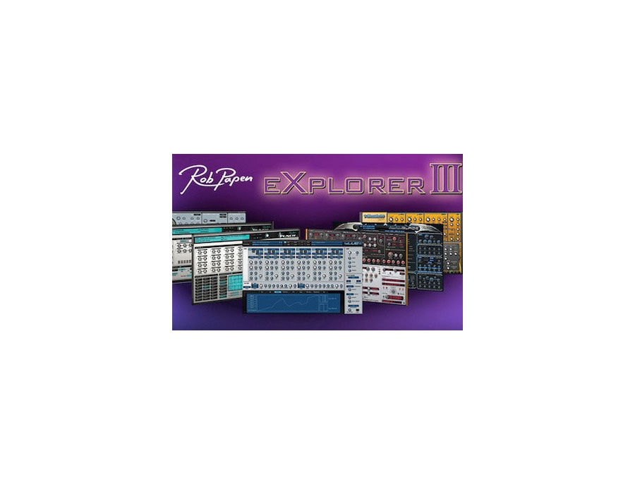 Rob papen explorer iii xl