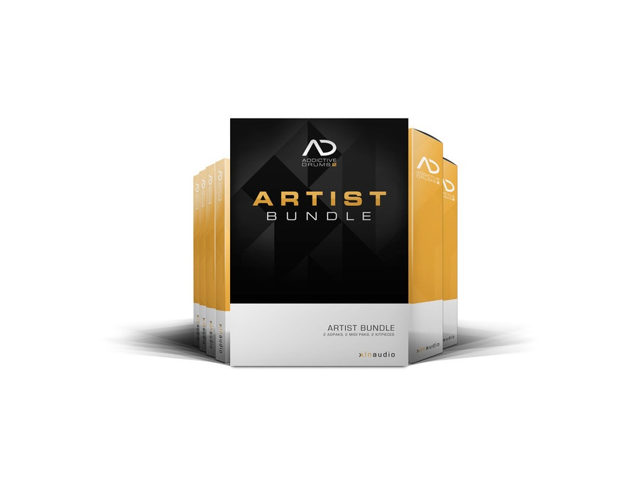 XLN Audio Addictive Drums 2: Artist Bundle