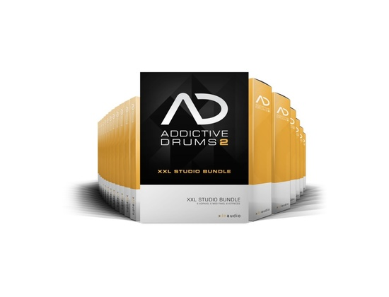 XLN Audio Addictive Drums 2: XXL Studio Bundle