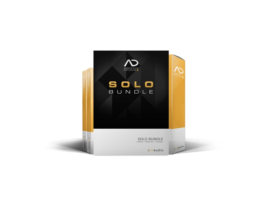 XLN Audio Addictive Drums 2: Solo Bundle