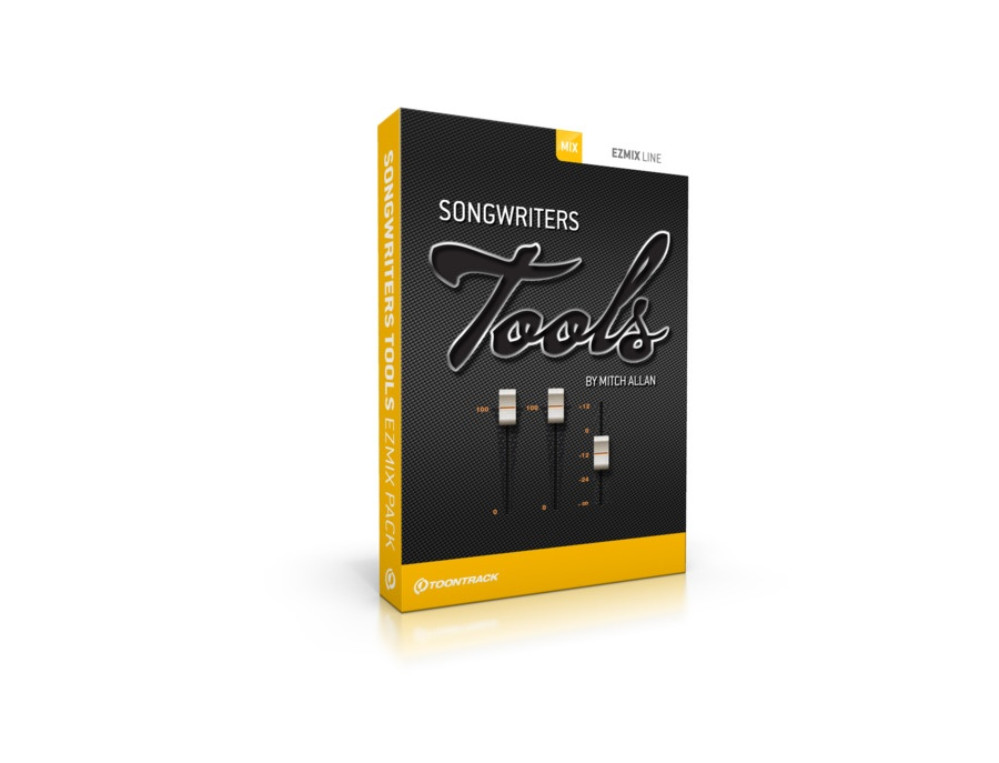 Toontrack Songwriters Tools EZmix Pack