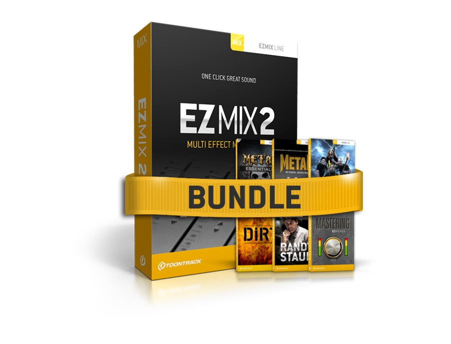 Toontrack ezmix 2 metal bundle xl