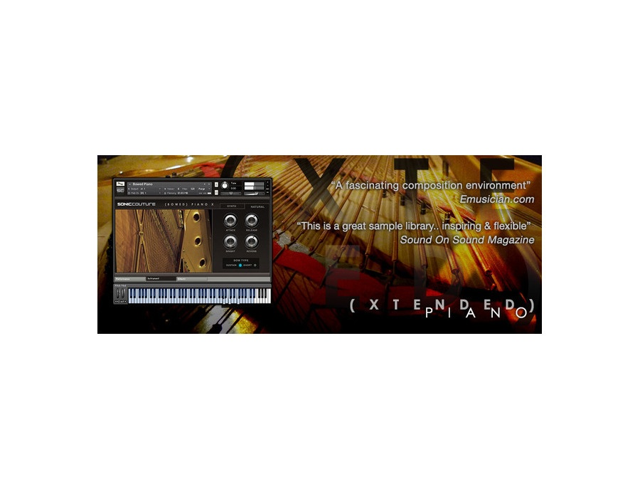 Soniccouture xtended piano xl
