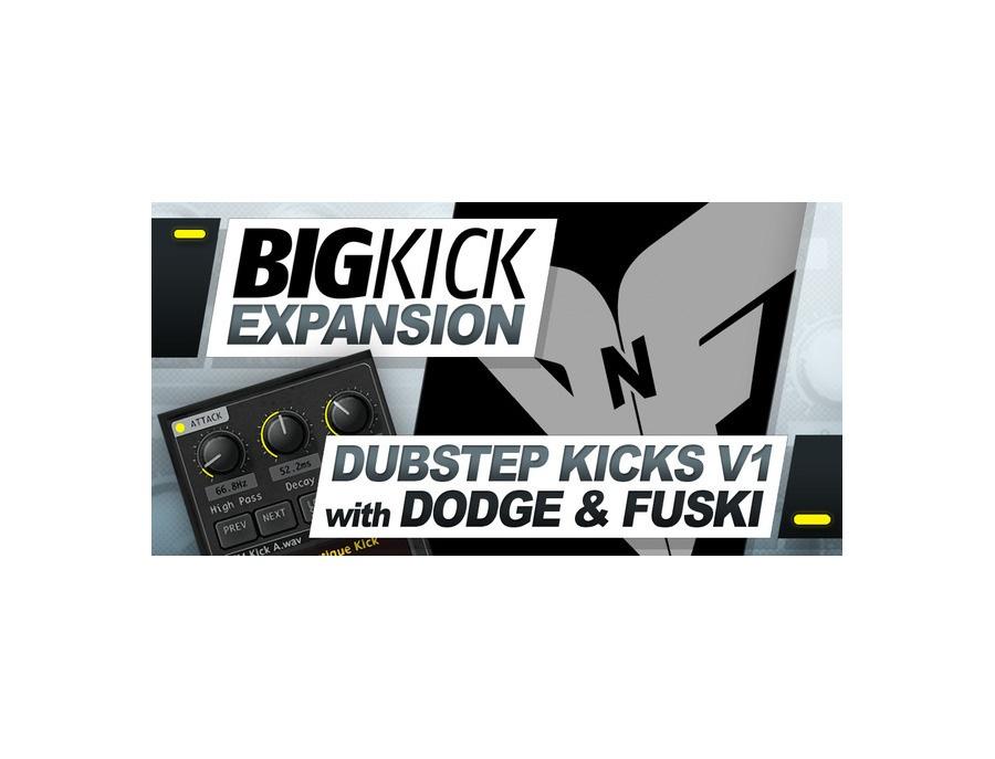 Plugin Boutique BigKick Expansion V1- Dubstep Kicks with Dodge & Fuski