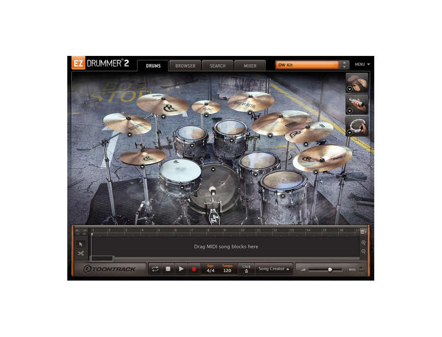 Toontrack EZX Made of Metal