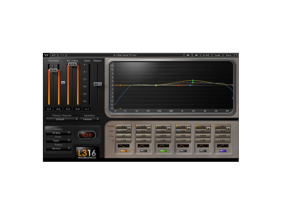 Waves l3 16 multimaximizer xl