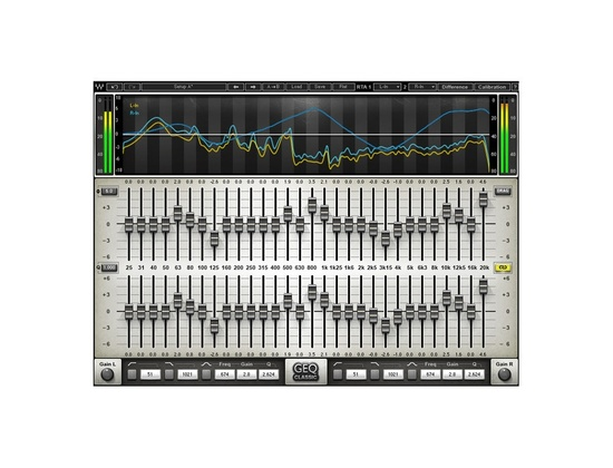 Waves GEQ Graphic Equalizer