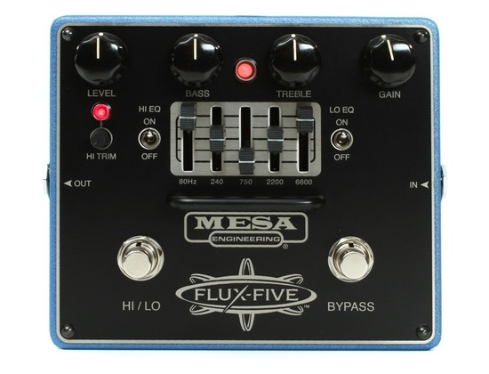Mesa/Boogie Flux-Five Overdrive with 5-Band EQ