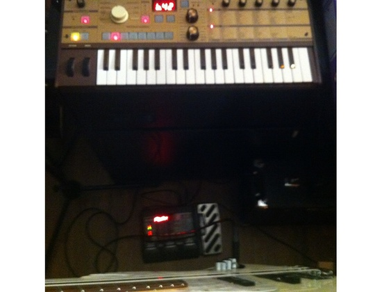 Micro Korg limited edition gold