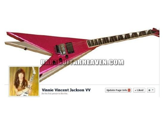 Jackson Vinnie Vincent Double-V