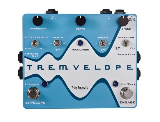 Pigtronix Tremvelope Envelope Modified Tremolo