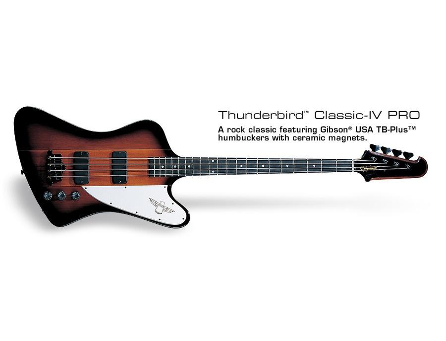 Epiphone thunderbird classic iv pro xl
