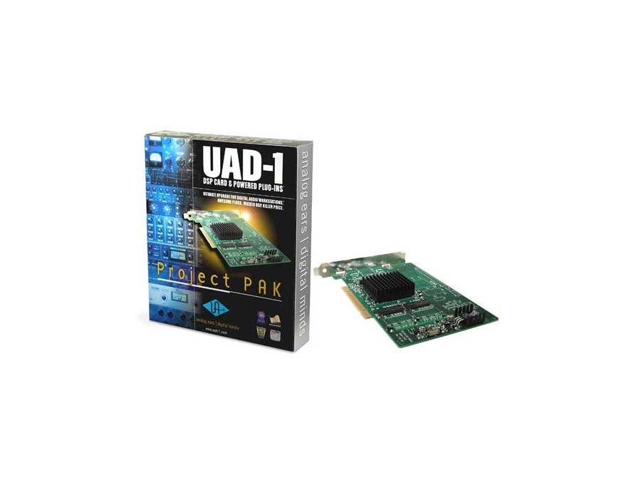 Universal audio uad 1 project pak pci card xl