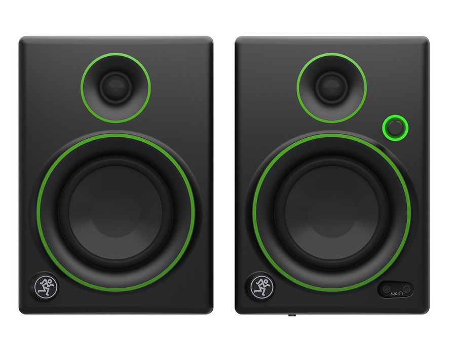 Mackie cr4 4 inch creative pair of reference multimedia monitors xl