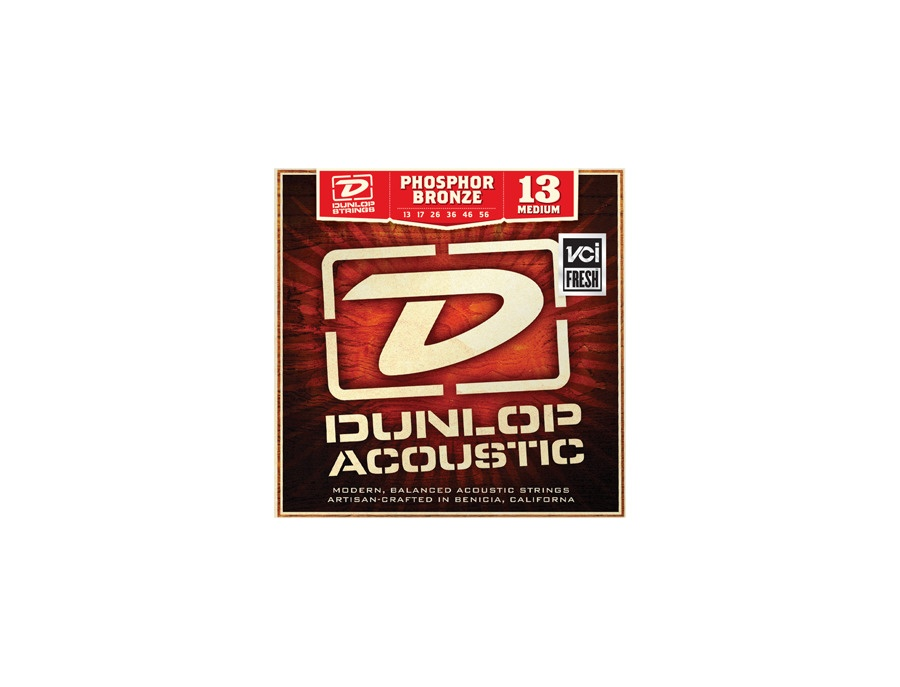 Dunlop acoustic phosphor bronze guitar strings xl