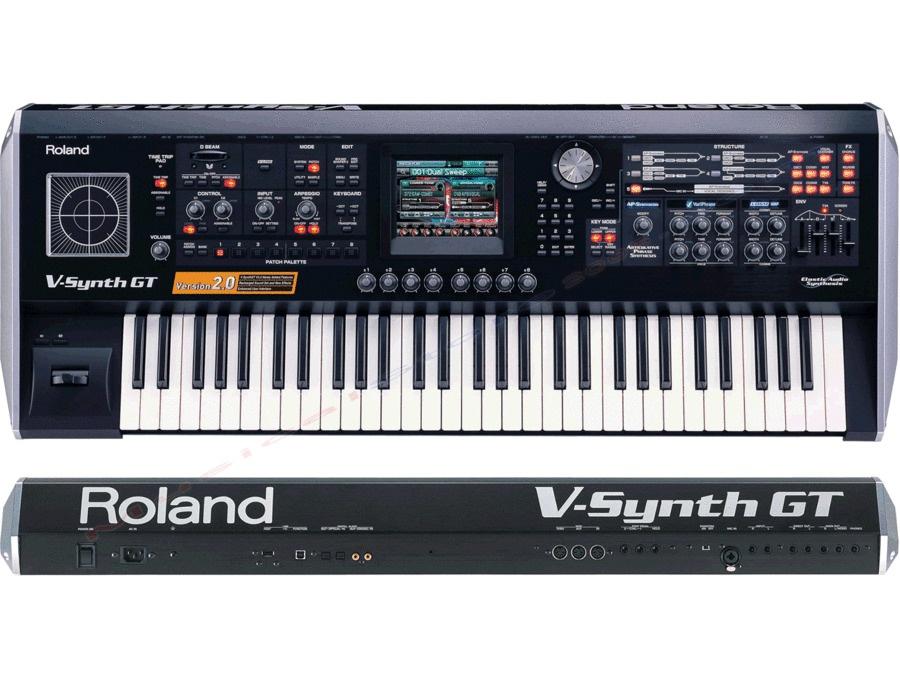 Roland v synth gt elastic audio synthesizer xl