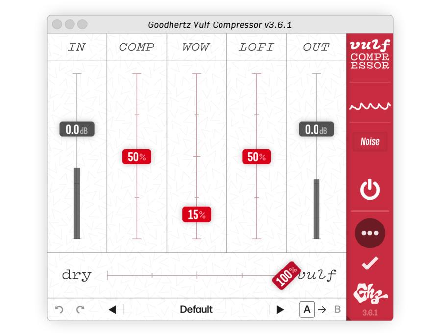 Goodhertz vulf compressor xl
